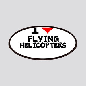I Love Flying Helicopters Patch