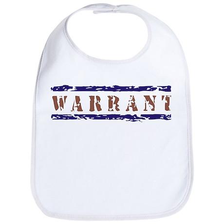 WARRANT Bib