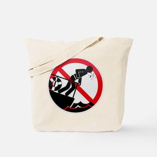 Sea Sick Tote Bag