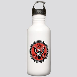 Military Industrial Complex Stainless Water Bottle