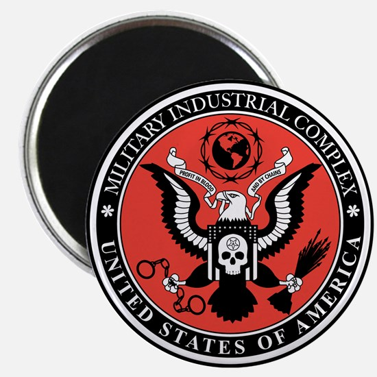 Military Industrial Complex Magnet