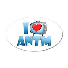 I Heart ANTM 22x14 Oval Wall Peel