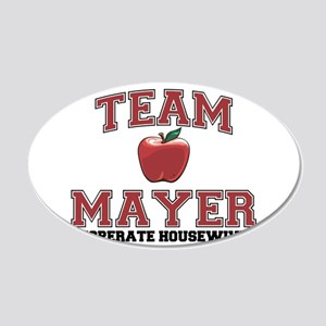 Team Mayer 22x14 Oval Wall Peel