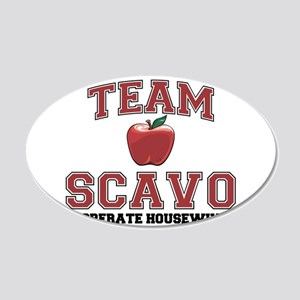 Team Scavo 22x14 Oval Wall Peel