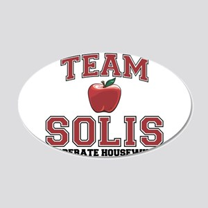 Team Solis 22x14 Oval Wall Peel