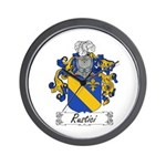 Rustici Coat of Arms Wall Clock