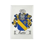 Rustici Coat of Arms Rectangle Magnet