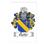 Rustici Coat of Arms Postcards (Package of 8)
