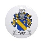Rustici Coat of Arms Ornament (Round)