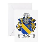 Rustici Coat of Arms Greeting Cards (Pk of 10)