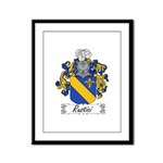 Rustici Coat of Arms Framed Panel Print