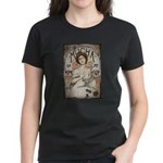 Vintage Mucha Women's Dark T-Shirt