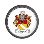 Ruggieri Family Crest Wall Clock