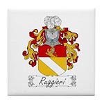 Ruggieri Family Crest Tile Coaster