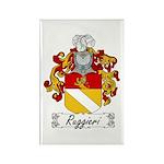 Ruggieri Family Crest Rectangle Magnet
