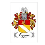 Ruggieri Family Crest Postcards (Package of 8)