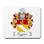Ruggieri Family Crest Mousepad