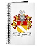 Ruggieri Family Crest Journal