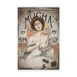 Vintage Mucha Mini Poster Print