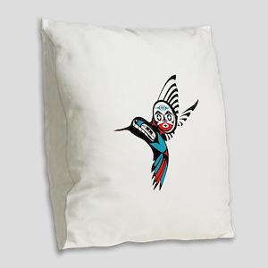 SOULFUL DAY Burlap Throw Pillow