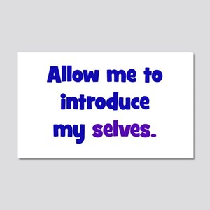 Introduce My Selves 20x12 Wall Decal