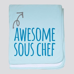 Awesome sous chef baby blanket