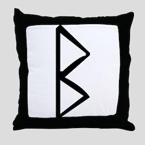 Berkanan Throw Pillow