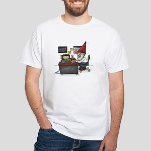 Tax Gnome White T-Shirt