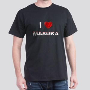 I Love Masuka - Men's Dark T-Shirt