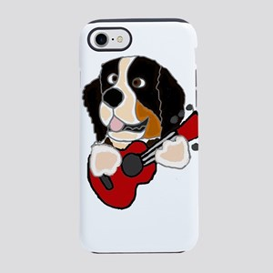 Bernese Mountain Dog Guitar Ar iPhone 7 Tough Case