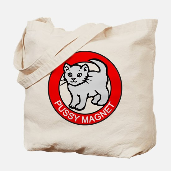 Pussy Magnet Tote Bag
