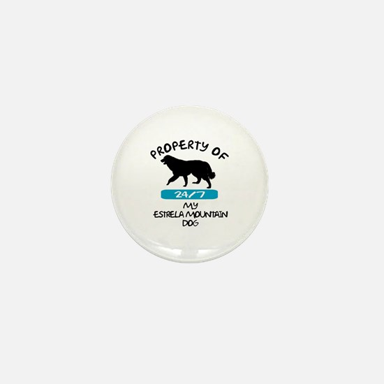 Estrela Mountain Dog Mini Button