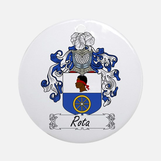Rota Coat of Arms Ornament (Round)