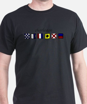 Cool Nautical letters a T-Shirt