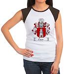 Rosso Family Crest Women's Cap Sleeve T-Shirt