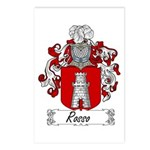 Rosso Family Crest Postcards (Package of 8)