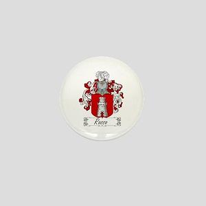 Rosso Family Crest Mini Button