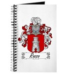 Rosso Family Crest Journal