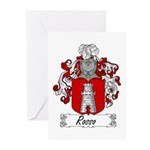 Rosso Family Crest Greeting Cards (Pk of 10)