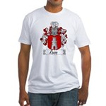 Rosso Family Crest Fitted T-Shirt
