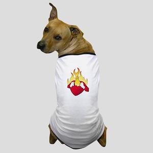 heart burn Dog T-Shirt
