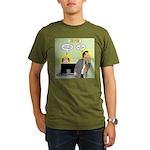Call an Actuary Stat Organic Men's T-Shirt (dark)