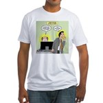 Call an Actuary Stat Fitted T-Shirt