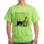 Call an Actuary Stat Green T-Shirt
