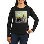 Call an Actuary S Women's Long Sleeve Dark T-Shirt