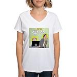 Call an Actuary Stat Women's V-Neck T-Shirt