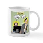 Call an Actuary Stat 11 oz Ceramic Mug