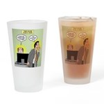 Call an Actuary Stat Drinking Glass