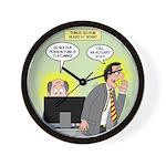 Call an Actuary Stat Wall Clock
