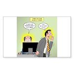 Call an Actuary Stat Sticker (Rectangle 50 pk)